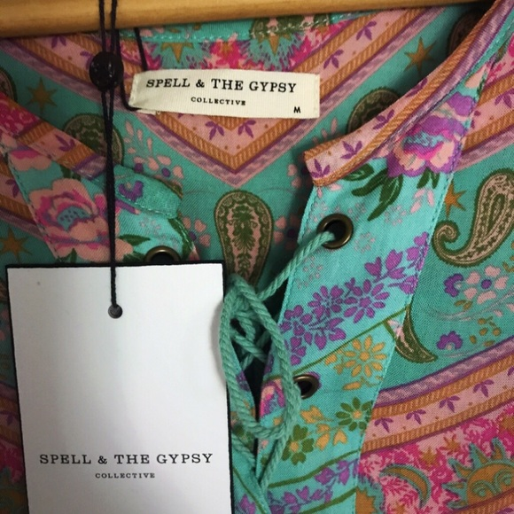Spell & The Gypsy Collective Other - ☘️Spell City Light Blouse☘️